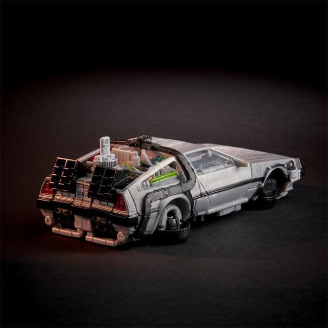 Action Figure Transformers - Gigawatt DeLorean (Back to the Future Crossover)