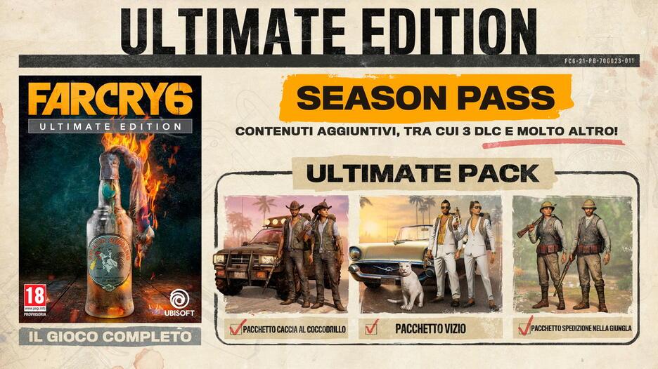 Far Cry 6 - Ultimate Edition | GameStopZing Italia