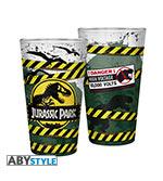 Bicchiere Jurassic Park - Danger High Voltage