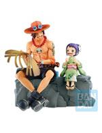 Figure One Piece - Portgas D. Ace & Otama (Emorial Vignette)
