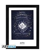 Poster Harry Potter - Mappa del Malandrino