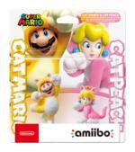 NINTENDO Amiibo - Cat Mario & Cat Peach (Super Mario)